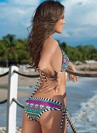 Macri Elena Vélez in a bikini - ass