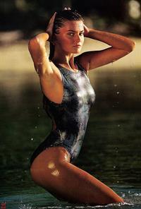 Paulina Porizkova in a bikini