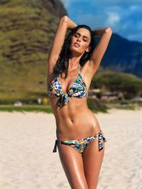 Nicole Trunfio in a bikini