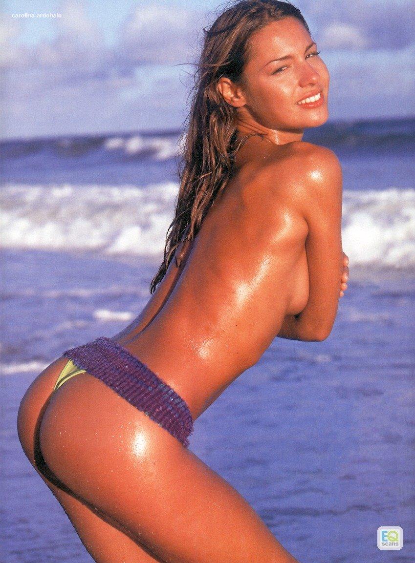 Carolina Ardohain in a bikini - ass
