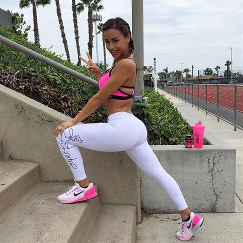 Ana Cheri in Yoga Pants
