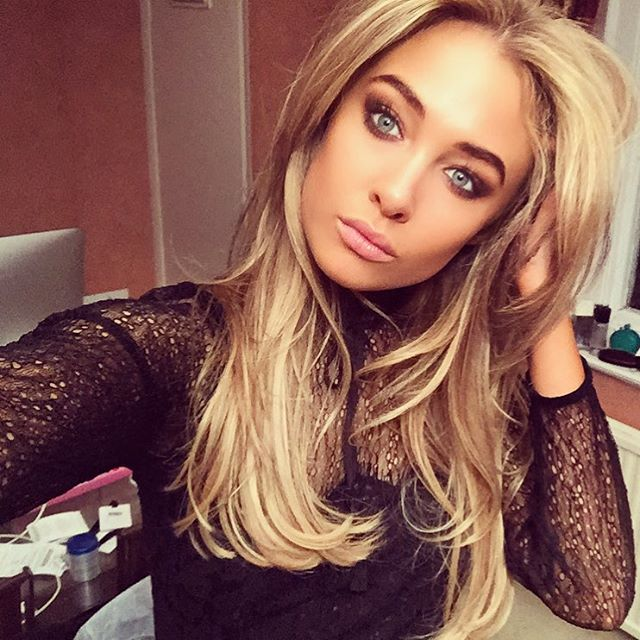Nicola Hughes taking a selfie