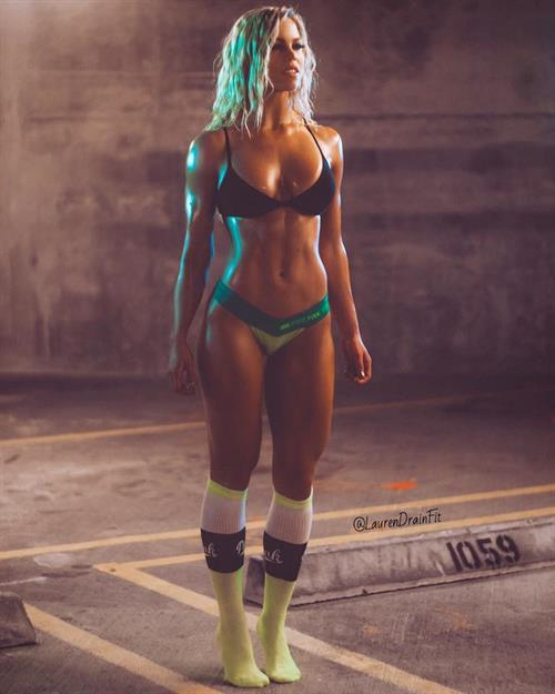 Lauren Drain in a bikini
