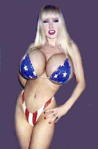 Wendy Whoppers in a bikini