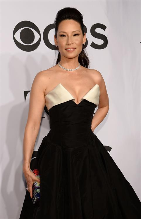 Lucy Liu at 68th Annual Tony Awards at Radio City Music Hall June 8, 2014