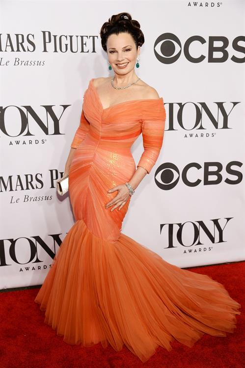 Fran Drescher at 68th Annual Tony Awards at Radio City Music Hall June 8, 2014