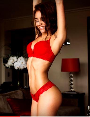 Galina Dubenenko in lingerie