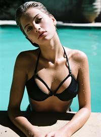 Megan Blake Irwin in a bikini