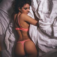Haylie Noire in lingerie - ass
