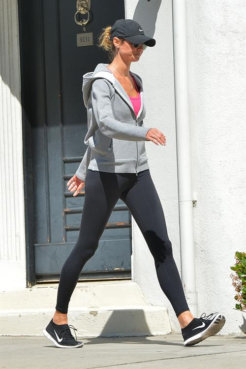 Stacy Keibler in Yoga Pants