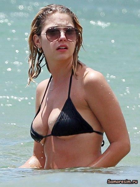 Ashley Benson in a bikini
