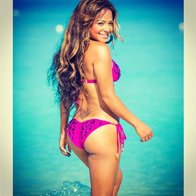 Christina Milian in a bikini - ass
