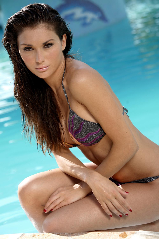 Giulia Olivetti in a bikini