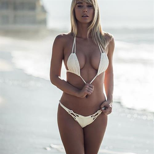 Sara Jean Underwood in a bikini