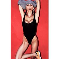 Lindsay Hancock in a bikini