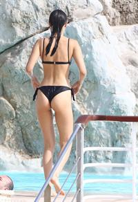 Bella Hadid in a bikini - ass
