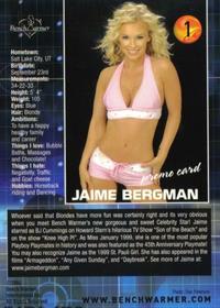 Jaime Bergman in a bikini
