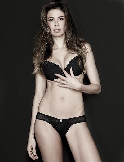 Luciana Gimenez in lingerie