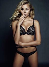 Rachel Hilbert in lingerie