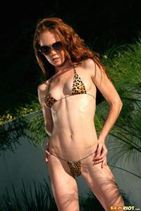 Heather Carolin in a bikini