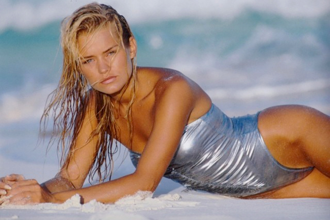 Yolanda Hadid in a bikini