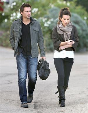 Kate Beckinsale headed to a high school football game in Studio City 11/10/12