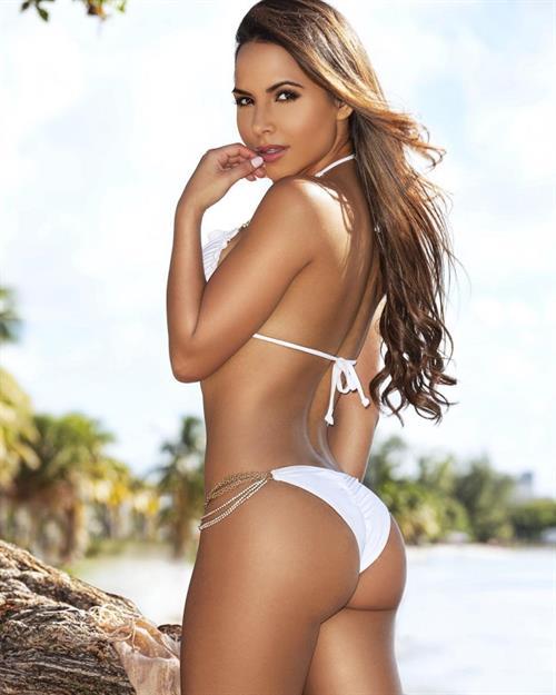 Lisa Morales in a bikini - ass