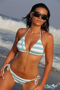 Ann Angel in a bikini