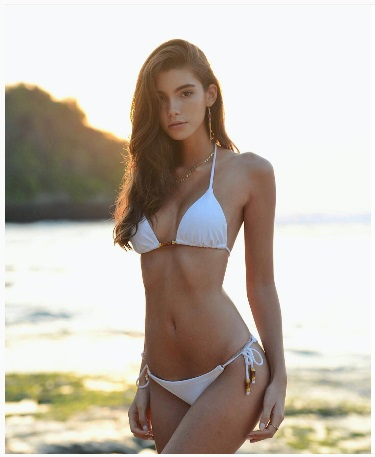 Cindy Mello in a bikini