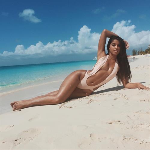 Yovanna Ventura in a bikini