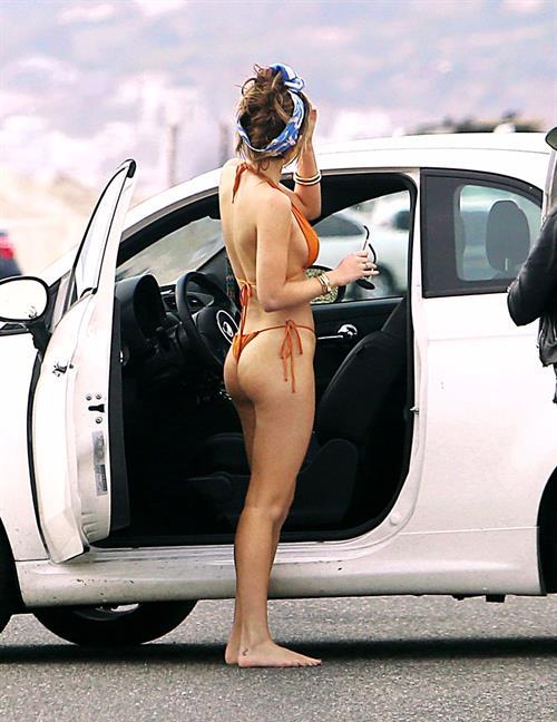 Bella Thorne bikini photo shoot on Zuma beach