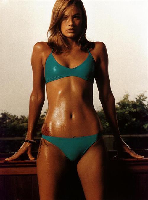 Carolyn Murphy in a bikini