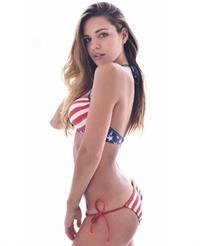 Jessica Ashley in a bikini