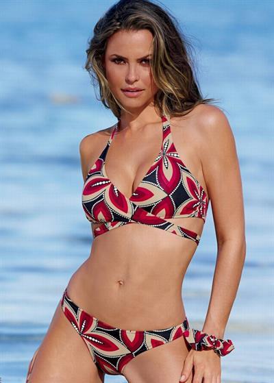 Fernanda Mello in a bikini