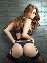 Leanna Decker in lingerie - ass