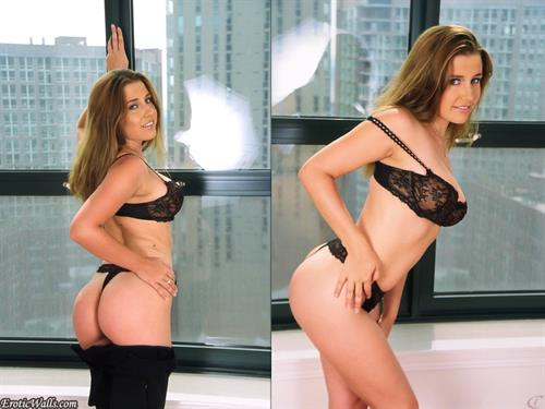 Erica Campbell in lingerie - ass
