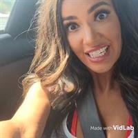 Mercedes Terrell taking a selfie