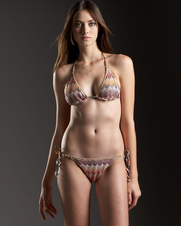 Bruna Hort in a bikini