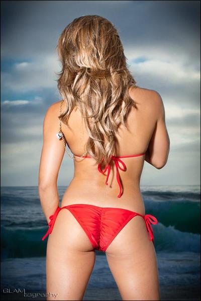 Michelle Rivera in a bikini - ass