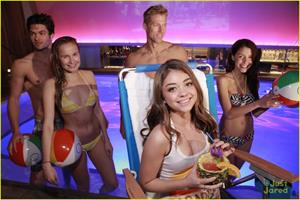 Sarah Hyland at the OP pool party