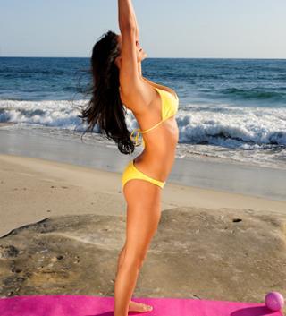 Kylette Zamora in a bikini