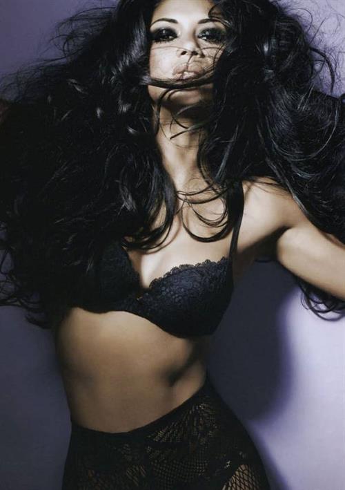 Nicole Scherzinger in lingerie