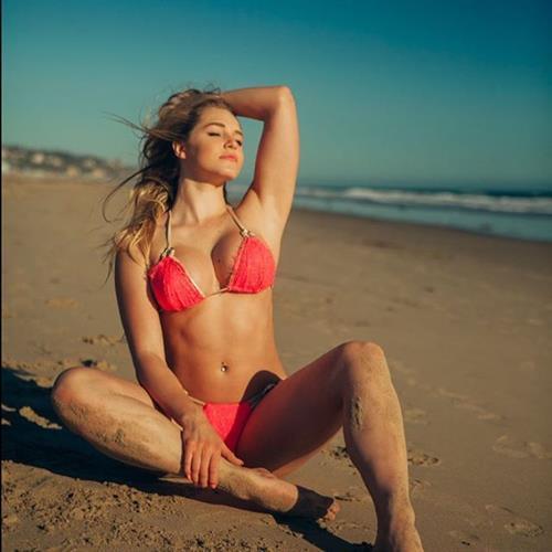 Courtney Tailor in a bikini