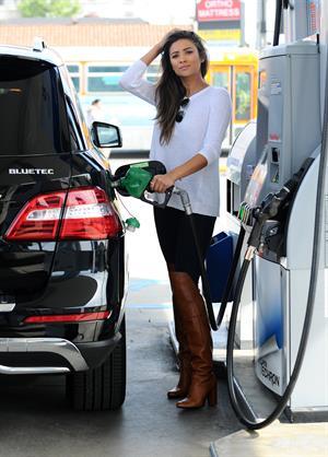 getting gas...