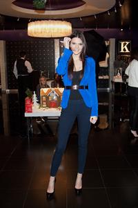 Kendall Jenner hosts 1st fan meet and greet at Kardashian Khaos in Vegas 12/15/12