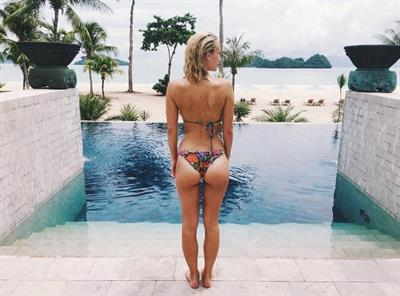 Tiffany Watson in a bikini - ass