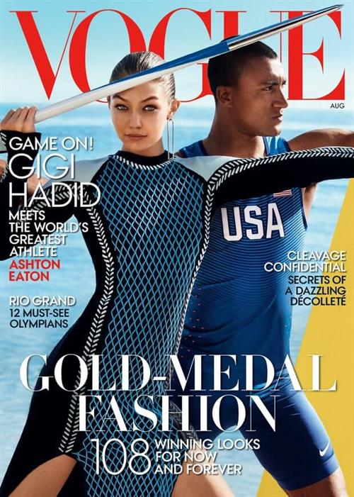 Gigi Hadid Vogue Cover