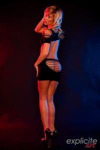 Lola Reve in lingerie