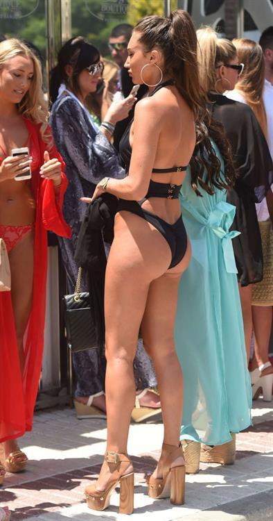 Megan McKenna in a bikini - ass