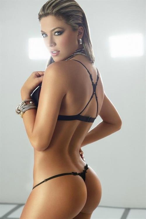 Daniela Tamayo in a bikini - ass